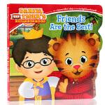 Friends are tne Best很好的朋友 英文原版绘本 儿童启蒙纸板图画书 友情