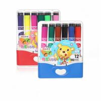 掌握20501印章水彩笔套装 学生美术笔 彩色绘画笔 儿童涂鸦笔