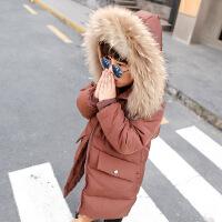 №【2019新款】冬天儿童穿的男童装棉衣中大儿童洋气棉袄中长款宝宝羽绒加厚外套