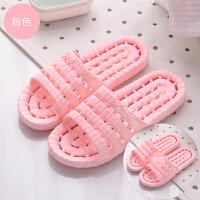 浴室拖鞋女夏季室内防滑情侣男居家用洗澡漏水女士凉拖鞋