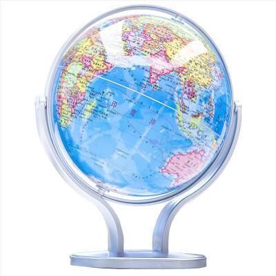 【满200减100】得力地球仪2167 地球仪720°双轴旋转地球仪14.2cm印刷清晰层次分明 世界地球仪 学生地球仪【全店满200减100,满25元包邮】