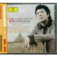 正版现货 郎朗 肖邦钢琴协奏曲 祖宾梅塔维也纳爱乐乐团 CD