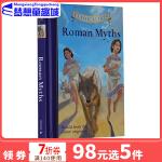罗马神话 英文原版 Classic Starts Roman Myths 英语原版小说青少版 精装 7-9岁