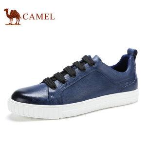 camel 骆驼男鞋男士时尚休闲低帮鞋板鞋潮流绅士 潮 鞋子男