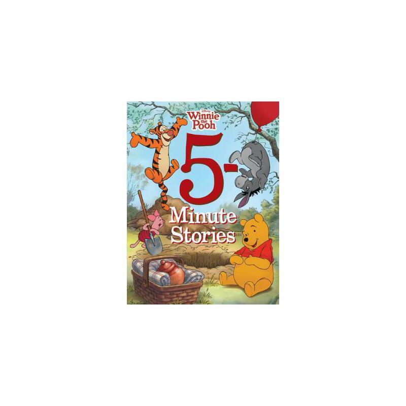 【预订】5-Minute Winnie the Pooh Stories 预订商品,需要1-3个月发货,非质量问题不接受退换货。