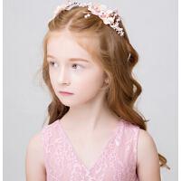 新款时尚公主头链 女童额饰花童礼服配饰新年演出皇冠