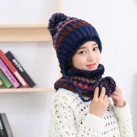 【满199立减100】茉蒂菲莉 毛线帽 新款韩版帽子女冬天百搭潮甜美可爱学生保暖护耳帽时尚毛线帽