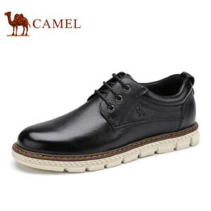 camel骆驼男鞋   新品复古休闲低帮男鞋 舒适耐磨男士皮鞋子