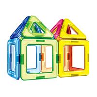 趣味儿童磁力片积木拼插 宝宝益智玩具拼装磁铁早教磁力片 多选套餐 儿童礼物彩盒装