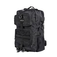 新款背包大容量登山包摄影包电脑包户外旅行双肩包多功能男包 黑色