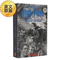 哈利波特与火焰杯 英文原版科幻小说 Harry Potter Goblet of Fire JK罗琳 布莱恩瑟兹尼克