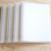 苏铁时光小方格空白横线活页本A5B5A4大笔记本子绘画网格手账本