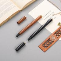 红木宝珠笔套装 金属中性笔签字笔水笔商务创意礼品定制刻字logo