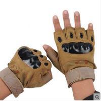 山羊皮搏击手套 户外健身半指手套防滑耐磨男士运动手套 可礼品卡支付