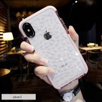 苹果X手机壳新款XsMax高档8plus全包防摔7p潮牌女款6s硅胶软套iPhone x超薄透明6s iPhoneX