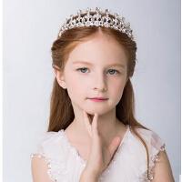 新年时尚女孩公主王冠儿童发饰 水钻小皇冠发箍头箍女童头饰
