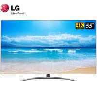 LG 55SM9000PCB 55英寸4K影院NanoCell硬屏全面屏HDR智能液晶电视机新品上市 黑色