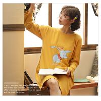 【NJR&秋冬新品】南极人睡衣女士家居服睡裙可外穿棉质舒适透气KH6225