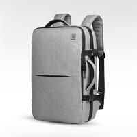青年双肩包男士商务背包出差旅行大容量多功能寸外星人电脑背包