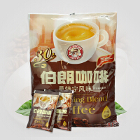 台湾伯朗咖啡 曼特宁风味三合一速溶咖啡粉饮品 480g(16g*30包)