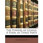 【预订】The Powers of Genius: A Poem, in Three Parts