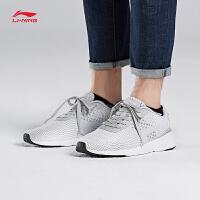 李宁休闲鞋男鞋运动时尚系列Heather透气轻便耐磨防滑网面运动鞋AGCM041