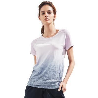 网易严选 女式无缝运动T恤沁凉绵软的运动季