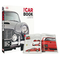DK The Car Book The Definitive Visual History dk汽车百科 儿童科普知识