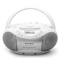 熊猫(PANDA) CD-208 CD复读机USB插卡手提音响便携式录音磁带收音机收录机MP3播放机播放器