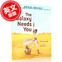 现货 星球大战 天行者崛起 银河系需要你 英文原版 星战绘本故事 Star Wars: The Rise of Sky