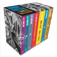 现货 哈利波特1-7全集 Bloomsbury出版 英国版 英文原版小说 英文版 Harry Potter1-7 JK罗