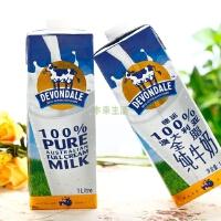[当当自营]【本来生活】德运全脂牛奶1L*10--澳大利亚进口