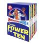 Scholastic学乐 Murderous Maths Box Set 可怕的数学10册全套英文原版图书 BBC英剧同名科普小说 课外阅读 STEM教育 儿童英文原版进口图书