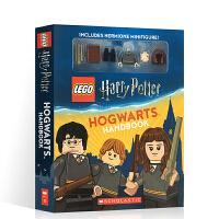 英文原版 乐高哈利波特 霍格沃茨手册 含赫敏积木人仔 礼盒装 Lego Harry Potter Hogwarts H