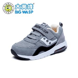 大黄蜂童鞋 宝宝机能鞋学步鞋1-3-6岁网面透气男童运动鞋儿童鞋子