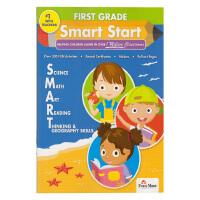 Evan-Moor Smart Start First Grade 1 美国加州教辅 聪慧启蒙一年级6科英语启蒙 儿童