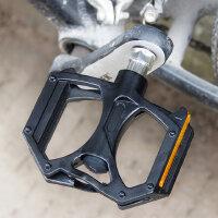 自行车脚踏滚珠超轻铝合金山地车脚踏板轴承脚蹬骑行装备单车配件