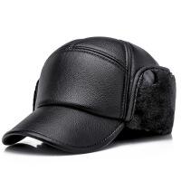 №【2019新款】送中老年人的男土冬天带的帽子防风爸爸时尚鸭舌帽老人冒子。