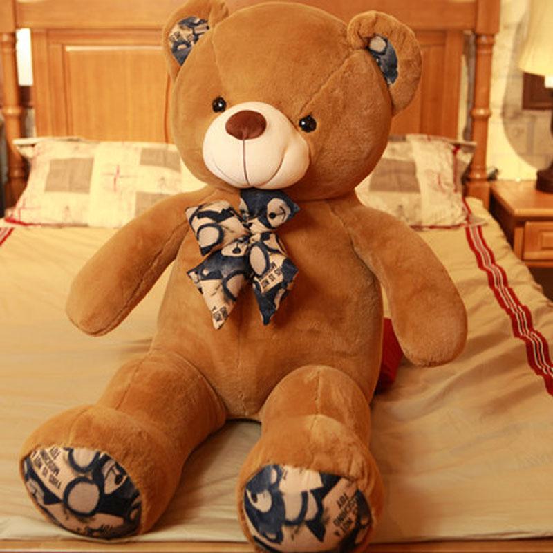 抱抱熊毛绒玩具熊大号公仔女孩布娃娃玩偶生日礼物送女友