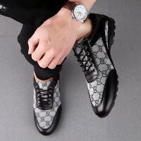 大码男鞋47码46码夏季英伦韩版布鞋透气休皮鞋闲板鞋高个子大脚鞋