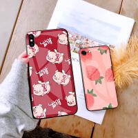 iphone苹果7plus手机壳玻璃6splus壳潮iphone6s壳女款8plus保护套7个性6p