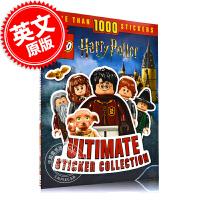 现货 乐高 哈利波特完全贴纸系列 英文原版 LEGO Harry Potter Ultimate Sticker Co