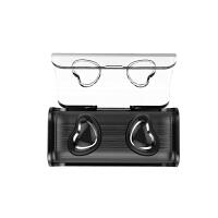 双耳无线蓝牙耳机5.0苹果迷你超小跑步开车隐形入耳耳塞式重低音 深邃黑 全新双耳5.0 官方标配