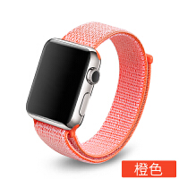 apple watch4表带苹果手表表带iwatch2/3/4代尼龙回环38/42mm彩虹款 1代