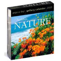 英文原版 2020年画廊日历:大自然 进口台历 桌面摆件 精美装帧 新年礼物 Audubon Nature Page-