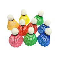 毛球塑料羽毛球训练球很耐打12只装练习胶羽毛球