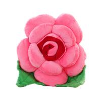 玫瑰花毛绒玩具花朵抱枕结婚情侣娃娃女生 沙发靠垫公仔生日礼物
