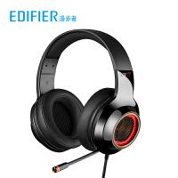 Edifier/漫步者 G4PRO游�蚨��C�^戴式��X吃�u�S秒���_式�P�本USB7.1�道音�分氐鸵裟ё��有�耳���г�筒