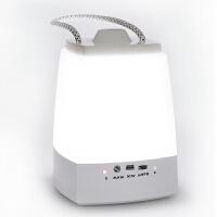 银之优品 LED小夜灯 手提节能灯无极调光定时灯蓝牙立体音响灯USb充电