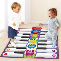 儿童男女宝宝双人脚踏电子琴脚踩钢琴毯幼儿益智玩具生日礼品